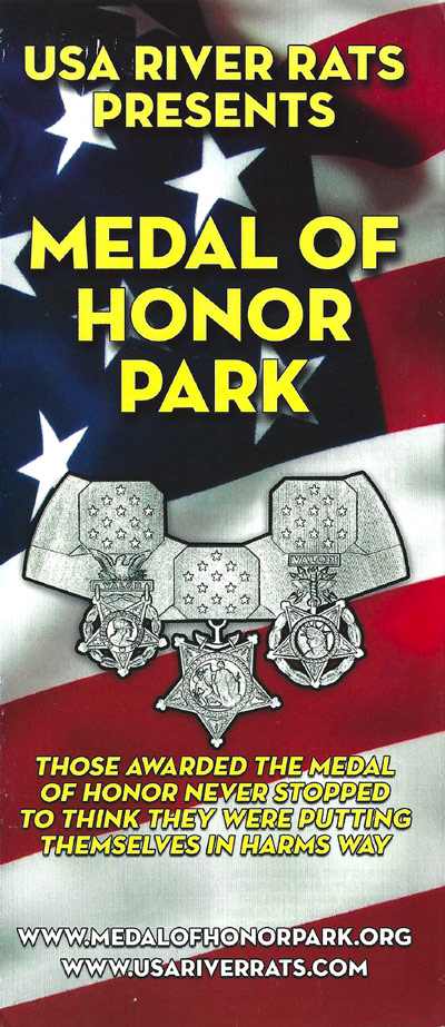 Medal of Honor Park Brochure